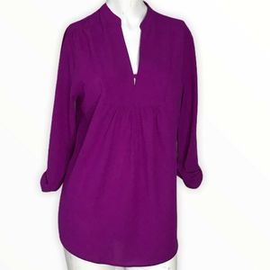 Brixon Ivy Stitch Fix Sylvester Split Neck Blouse